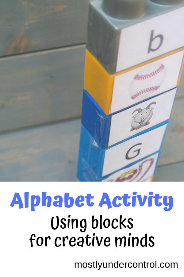 alphabet activity - teaching creative minds the alphabet