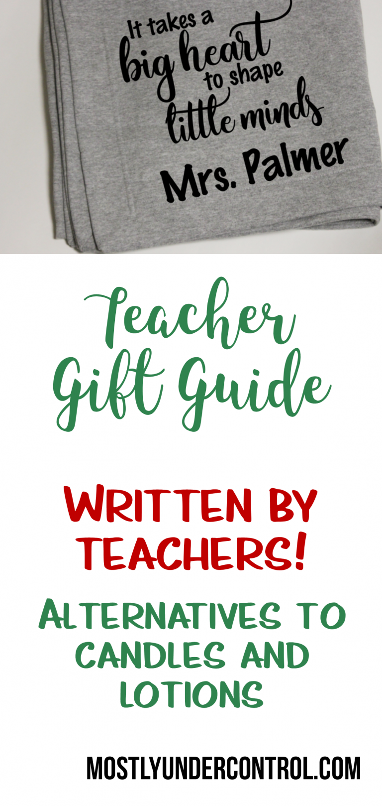 Teacher gifts your kids' teachers will actually enjoy