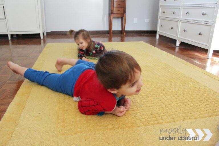 animal action dice - kids acting like animals