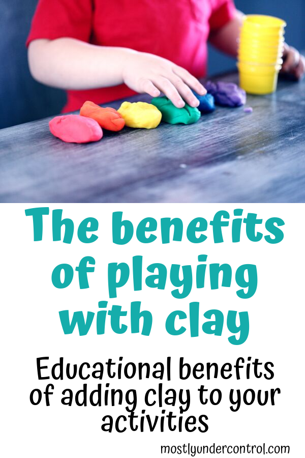 PLaying with clay has so many great educational benefits. Check them out here!