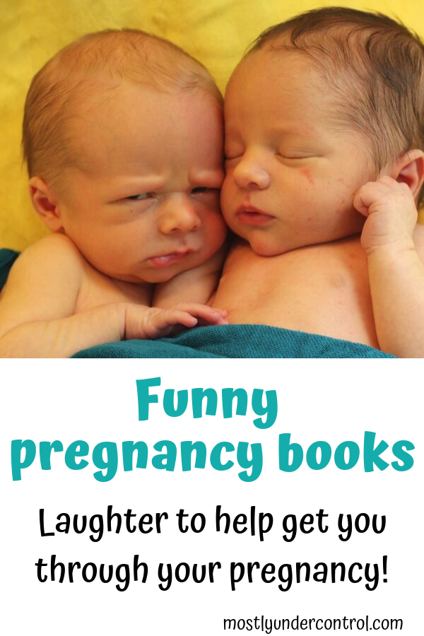 Funny pregnancy books - laughter to help get you through your pregnancy.